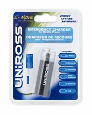 Uniross Emergency 1 Charger for Phones and iPod Black