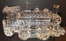 Waterford Crystal 2013 Train Engine Ornament with Enhancer New in Box