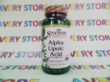 Swanson Alpha Lipoic Acid 100 mg 120 capsules