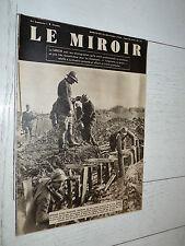 MIROIR 24/12 1939 GUERRE FRANCE FRONT MARINE U-BOOT GRAF SPEE CONTRE-TORPILLEUR