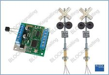 BLOCKsignalling Level Crossing Module with Led Lights Wig Wag