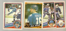 1984 - 85 Topps Hockey QUEBEC NORDIQUES Complete Team Set