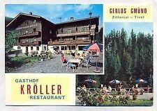 D 436 - Gasthof Kröller, Gerlos Gmünd, Zillertal,  ugl.
