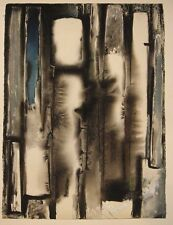 Rosario Moreno 1961 Abstract Painting Listed Argentina Latin American Modernist