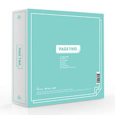 TWICE - [PAGE TWO] 2nd Mini Album Mint ver. CD+POSTER+72p Photo Book+3p Card+etc