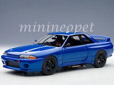AUTOART 89281 NISSAN SKYLINE GT-R R32 AUSTRALIAN BATHURST 1992 1/18 PLAIN BLUE