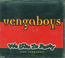 Vengaboys - We Like To Party 3 Tracks Cd Eccellente