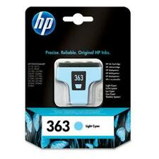 ORIGINALE HP Hewlett Packard HP 363 LIGHT CIANO CARTUCCIA INCHIOSTRO C8774EE AUG 2016 data