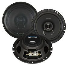 CRUNCH DSX62 6.5'' 17CM 2 WAY COAXIAL SPEAKERS SLIM SHALLOW SPEAKERS NEW
