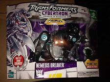 Transformers CYBERTRON Nemesis Breaker Hasbro 2006 SEALED Black Deco Prime