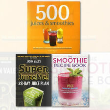 Juice Diet Books Collection 3 Books Set (Super Juice Me ,Smoothie Recipe) New