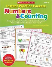 Instant Practice Packets: Numbers & Counting: Ready-to-Go Activity Pages That He