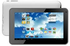 """AUDIOSONIC WHITE 7"""" inch Tablet + Cam android 4.1 Google Play Wi-fi Email HDMI"""