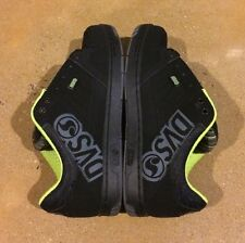 DVS Ignition Size 8.5 Black Nubuck Militia Tracker Heir Havoc Skate BMX DC MOTO