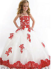Flower Girl Dresses for Wedding Birthday Princess Prom New Year Pageant Party