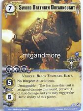 Warhammer 40000 Conquest LCG - Sword Brethren Dreadnought  #076 - What Lurks