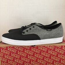 VANS MADERO C&C BLACK PEWTER SIZE 10.5 NEW WITH BOX