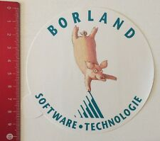 Pegatina/sticker: borland software de tecnología (24051658)