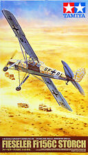 Tamiya 61100 Fieseler Fi156C Storch (with 6 figures) 1/48 scale kit