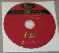 2006 Lincoln LS Service Manual Set DVD