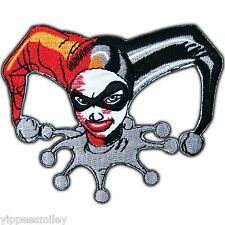 Bat Batman Harley Quinn Joker Super Hero Comic Embroidered Iron on Patches #0094
