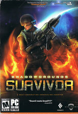Shadowgrounds Survivor (PC, 2007, Meridian 4, SEALED NEW)