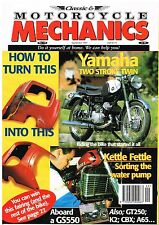 Classic & Motorcycle Mechanics 119 Sep 1997  YDS2 Suzuki GS550 GT750 CBX1000