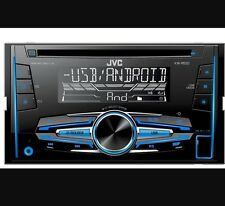 JVC KW-R520 Doble Din Coche Radio Stereo CD MP3 USB AUX en audio NUEVO
