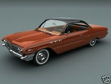 1961 Buick Lesabre Coupe, Refrigerator Magnet,40 MIL