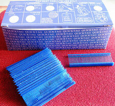 "5000  1"" INCH REGULAR  BLUE  PRICE TAG TAGGING  BARBS FASTENERS"