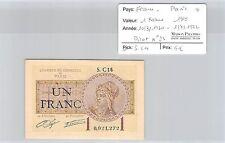 BILLET DE NÉCESSITÉ - FRANCE - PARIS - 1 FRANC - 1919 - 10.3.1920 / 1.7.1922 *
