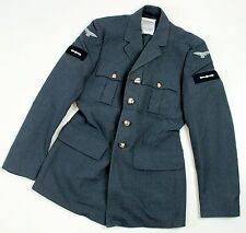 """(8a) RAF ROYAL AIR FORCE NO1 DRESS JACKET with BADGES 36"""" CHEST"""