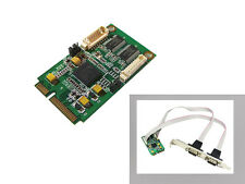 Carte MiniPCIe - COM RS232 - 2 PORTS - Mini PCI Express - CHIPSET EXAR XR17V352