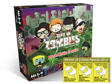 City of Zombies (2016) award winning co-operative educational maths game age 6+