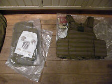 Eagle Industries EI MJK large Khaki Maritime CIRAS molle plate carrier vest tan