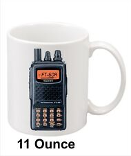 Yaesu FT-60R HT Amateur Radio Coffee Mug. 11oz. Nice gift for Hams!