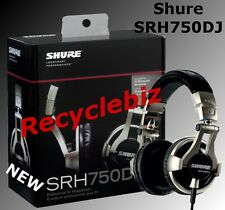 Shure SRH750DJ NEW IN BOX Professional DJ Headphones IN STOCK Free Shipping