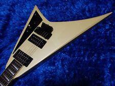 Fernandes JS-100 Randy V Shape Rare Guitar white 150115