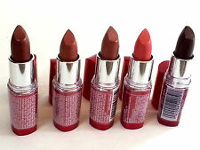 Maybelline - Moisture Extreme Lipstick - LOT OF 5 -  Rare colors - #38