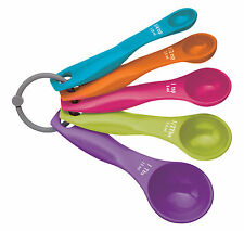 Kitchen Craft Five Piece Measuring Spoon Set CWMSPOONSET