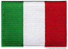 ITALY NATIONAL FLAG PATCH ITALIAN EMBROIDERED IRON-ON applique emblem TOPPA
