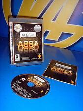 videojuego para playstation 3 SINGSTAR ABBA buen estado-con instrucciones