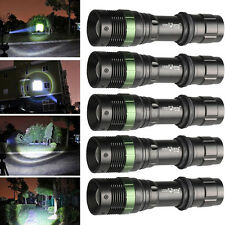5PCS Zoomable Ultrafire 5000LM CREE XML T6 LED 18650 Battery 3Modes Flashlight