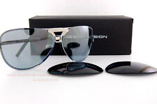 New Porsche Design Sunglasses P8678 8678 D Palladium Interchangeable Lenses