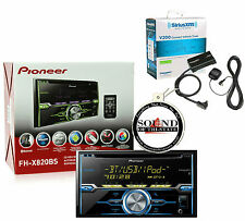 Pioneer FH-X820BS CD Player Built in Bluetooth w/ SiriusXM SXV200v1 New