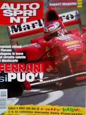 Autosprint 19 1997 Record Ferrari. Parla Alex Zampedri. Visita alla Swift SC.55
