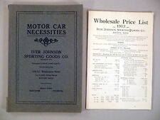 Iver Johnson CATALOG - 1913 - w/Price List -- automotive / motor car necessities