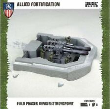 FIELD PHASER BUNKER/ STRONGPOINT - DUST TACTICS- SENT FIRST CLASS