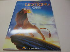 Walt Disney Picture Presents The Lion King piano vocal songbook words and music