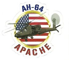 AH-64 APACHE HELICOPTER  Sticker Decal